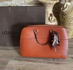 Louis Vuitton Epi Kenya Sorbonne Brown Leather Bad Size 17x14x4