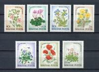 20492) Hongrie 1973 MNH Neuf Flowers - Fleurs 7v