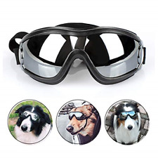 New listing Petleso Dog Goggles - Large Dog Eye Protection Doggles Windproof Sunglasses for