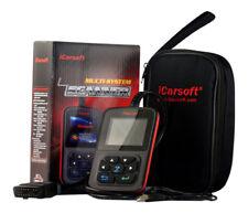 Icarsoft i810 OBD2 Diagnosi Errore Motore Leggere Spegnere Tedesco Molti Veicoli