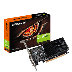 Gigabyte GT 1030 2GB GDDR5 GV-N1030D5-2GL PCI-E Video Card DVI HDMI Low Profile
