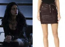 Shadowhunters Izzy Screen Worn RTA Gisele Leather Skirt