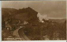 Rail Station at Berwyn, nr Llangollen, on fine mint Judges real photo postcard
