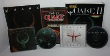 QUAKE II PC Computer Game 1997 Bundle Lot with Strategy Guides