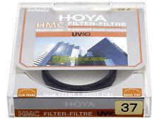 37mm. Filtro UV Hoya Multi Coated. Nuovo. Ultra Violet filter.