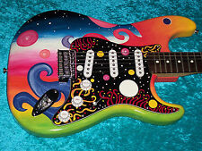 Universe Fender Stratocaster Guitar Strat MIM Mexican Mexico  painted in USA