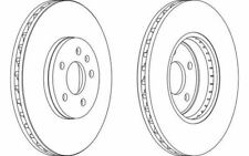 2x FERODO Front Brake Discs Vented 320mm for AUDI A4 A5 DDF1664 - Mister Auto