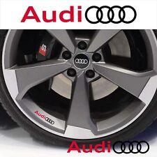 AUDI adesivo logo per cerchi specchietti A3 A4 A5 A6 TT sline stickers Q3 sport