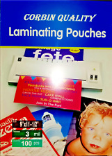 100 Letter 3 Mil Laminating Pouches Laminator Sheets 9 x 11-1/2 Quality