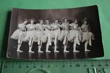 tolles altes Foto - acht junge Frauen beim Ballett - Ballerina - 1910-30 ??