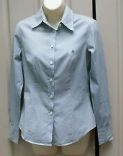 BENETTON grenn stripy shirt size S