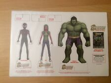 CHAMPIONS CHANGE THE WORLD PROMOTIONAL STANDEE POP UP, VIV VISION | HULK | MILES