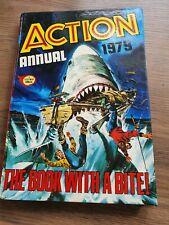 ACTION ANNUAL 1979 Fleetway FREE P&P Retro Old School British Comic Book