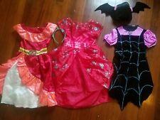 Vampirina And 2 Elena Of Avalor Costumes, Size 4-6x