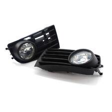 For VW GOLF 5 MK5 RABBIT 2003-2009 08 07 06 05 2004 FOG LIGHT LAMPS GRILLE 2X