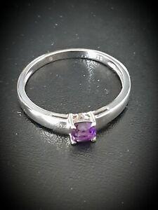Damen Schmuck Ring Silber 925 rhodiniert Amethyst lila Gr. 21 66 HSE24 NEU !!!