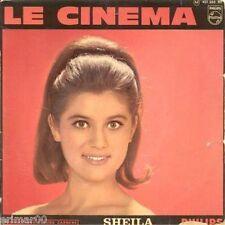 SHEILA // Le cinéma // Philips // 45 Tours // EP // Vinyle