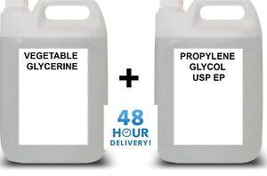 Base Mix VG PG VEGETABLE GLYCERINE & PROPYLENE GLYCOL DIY 99%+ PURE