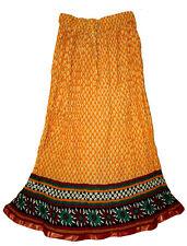 Cotton Skirt Indian Hippie Kjol Boho Ethnic Jupe Falda Gypsy Retro Women Ehs