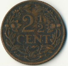 COIN / THE NETHERLANDS / 2 1/2 CENT 1916  #WT8021
