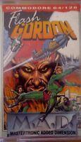 Flash Gordon (MAD Games) Commodore C64 Kassette (Box, Tape, Manual) 100 % ok