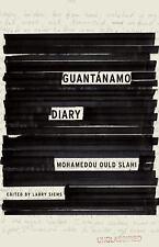 Guantanamo Diary by Mohamedou Ould Slahi CD AUDIOBOOK UNABRIDGED