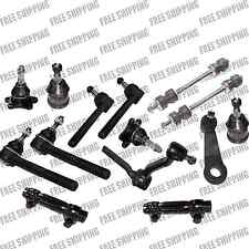2WD GMC Chevy C1500 C2500 Tie Rod Sleeves Sway Bar Pitman Idler Arm Ball Joint