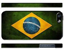 Brazil Symbol Flag iPhone 4 4S 5 5S 5c 6 6S 7 8 X XS Max XR 11 Pro Plus Case ip1