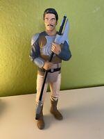 "Jabba Skiff Guard Lando Calrissian Vinyl Figure 1997 Star Wars Applause - 10"""