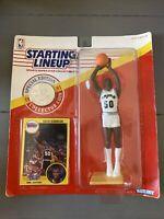 Starting Lineup Figure & Coin 1991 David Robinson #50 San Antonio Spurs Kenner
