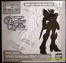 2008 Bandai MSIA MIA Mobile Suit Gundam Wing Zero Custom Endless Waltz EZ NY