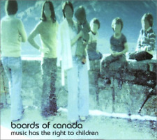 BOARDS OF CANADA-MUSIC HAS THE RIGHT TO CHILDREN-IMPORT CD WITH JAPAN OBI E25