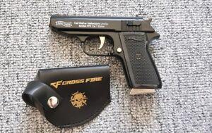 Mini Feuerzeug Pistole  Walter PPK Schwarz  NEU Restposten