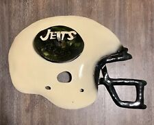 New York Jets Metal Helmet Wall Decor Handmade crafted Custom Man Cave +Stickers