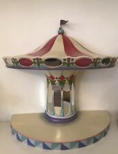 Disney Traditions Jim Shore Carousel Stand Base Horse Princess Flawed