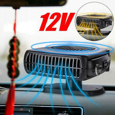 12V Portable Car Windshield Fan 200W Quick Heater Defroster Demister Vehicle NEW