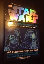 Star Wars Blueprints The Ultimate Collection - Five Double Sided Posters.