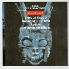 (GS167) Donnie Darko, The Director's Cut - The Sunday Times DVD