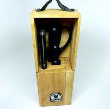 SABATIER Knife Block Scissors 2 Knives Incomplete Set