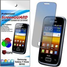 3 Pellicole Per Samsung S6102 Galaxy Y Duos Proteggi Schermo Display Pellicola