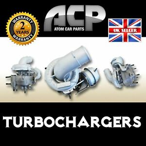 Turbocharger 727210 for Toyota: Avensis, Corolla D-4D. 110/115 BHP. 81/85 kW.