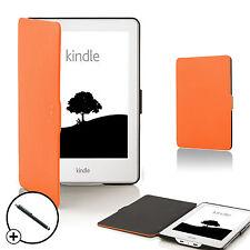 Vanguardia casos ® naranja Shell funda cubierta inteligente Amazon Kindle 2016 8th GEN Stylus