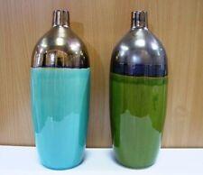 Vasi, cestini e fioriere blu in ceramica per piante