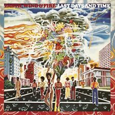 WIND & FIRE EARTH - LAST DAYS AND TIME   VINYL LP NEUF