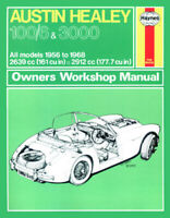 Austin Healey 100/6 & 3000 1956 - 1968 Haynes Workshop Service Repair Manual