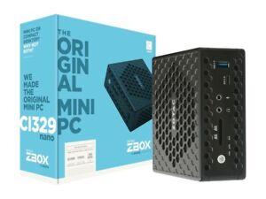 ZOTAC ZBOX C Series CI329 Nano Passive Cooled Silent Mini PC Barebones System