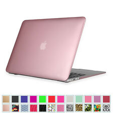 Für MacBook Air 13 13.3 Hülle Gummierte Hartschale Schutzhülle A1466 / A1369
