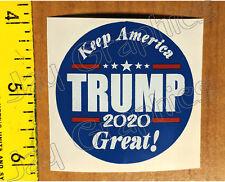TRUMP 2020 Hard Hat Sticker - KEEP AMERICA GREAT Safety Helmet Decals President