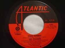 """The Trammps """"Disco Inferno"""" Atlantic 7"""" 45 Strong VG+"""