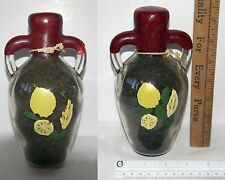 Vintage Decorative Tea Bottle Collection Set of 2 Wax Sealed Decanters Beautiful